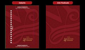Agendas l Gabarito e Arte Finalizada l Gráfica das Gráficas